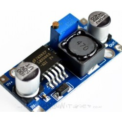 LM2596 mini step down voedings adapter 1.25~30V/2A