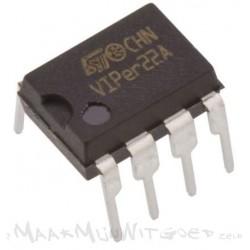 VIPer22A AC-DC omvormer DIP-8 voor SMPS